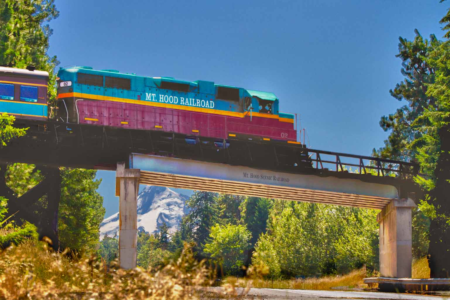 6 Incredible Oregon Train Ride Day Trips