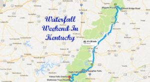 Here's The Perfect Weekend Itinerary If You Love Exploring Kentucky's Waterfalls