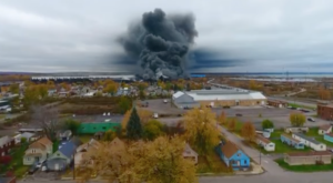 What This Drone Footage Caught In Buffalo Will Drop Your Jaw