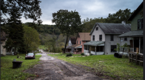 Nearly Everyone Has Forgotten About This Tiny Ghost Town Hiding In Pennsylvania