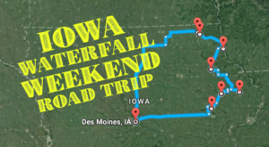 Here's The Perfect Weekend Itinerary If You Love Exploring Iowa's Waterfalls