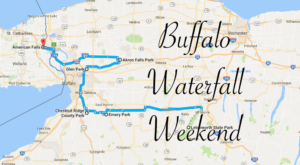 Here's The Perfect Weekend Itinerary If You Love Exploring Buffalo's Waterfalls
