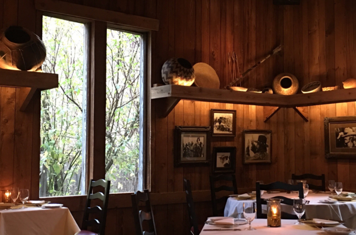 The Tree Room At Sundance Is A Secluded Beautiful Restaurant