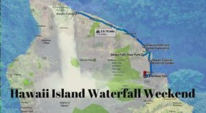 Here's The Perfect Weekend Itinerary If You Love Exploring Hawaii's Waterfalls