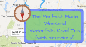 Here's The Perfect Weekend Itinerary If You Love Exploring Maine's Waterfalls