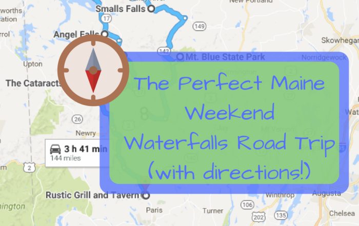 The Perfect Weekend Itinerary For Exploring Maine's Waterfalls
