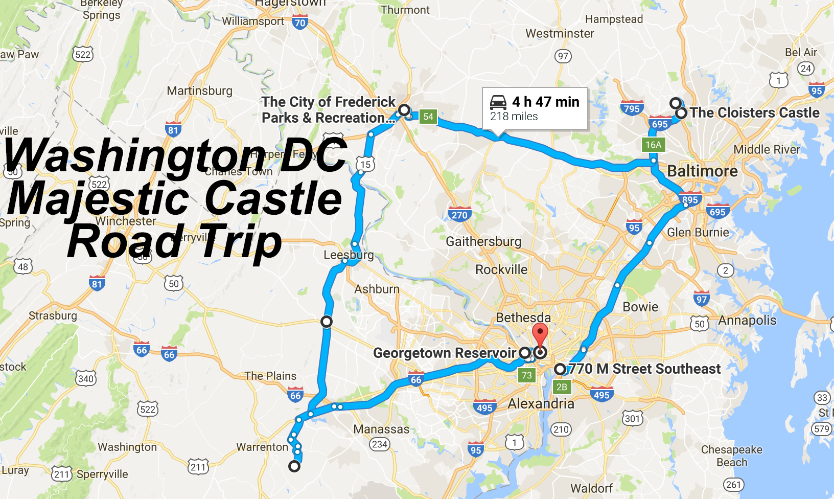 Take This Road Trip To See Washington Dc S Best Castles