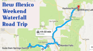 Here's The Perfect Weekend Itinerary If You Love Exploring New Mexico's Waterfalls