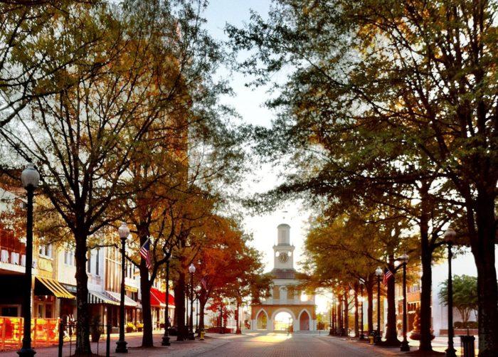 Downtown Fayetteville Restaurants