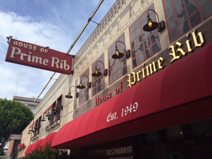 1 House Of Prime Rib 1906 Van Ness Avenue 94108
