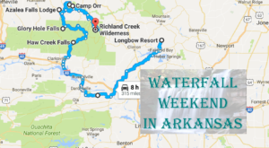 Here's The Perfect Weekend Itinerary If You Love Exploring Arkansas's Waterfalls