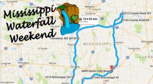 Here's The Perfect Weekend Itinerary If You Love Exploring Mississippi's Waterfalls