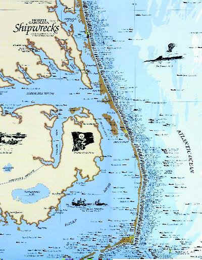 map of outer banks islands