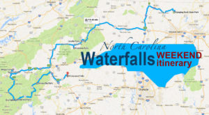 Here's The Perfect Weekend Itinerary If You Love Exploring North Carolina's Waterfalls