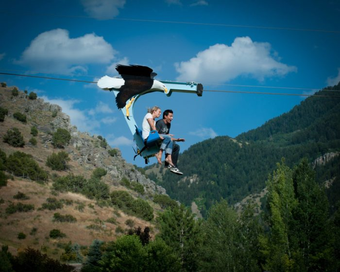 Zip Line Seat >> Turner Falls Zipline Is An Epic Adventure For All Ages In Davis Oklahoma