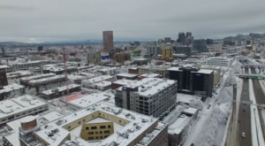 Someone Flew A Drone High Above Portland And Captured The Most Breathtaking Footage
