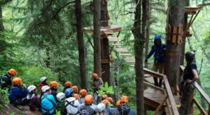 There's An Adventure Park Hiding In The Middle Of An Alaska Forest And You Need To Visit