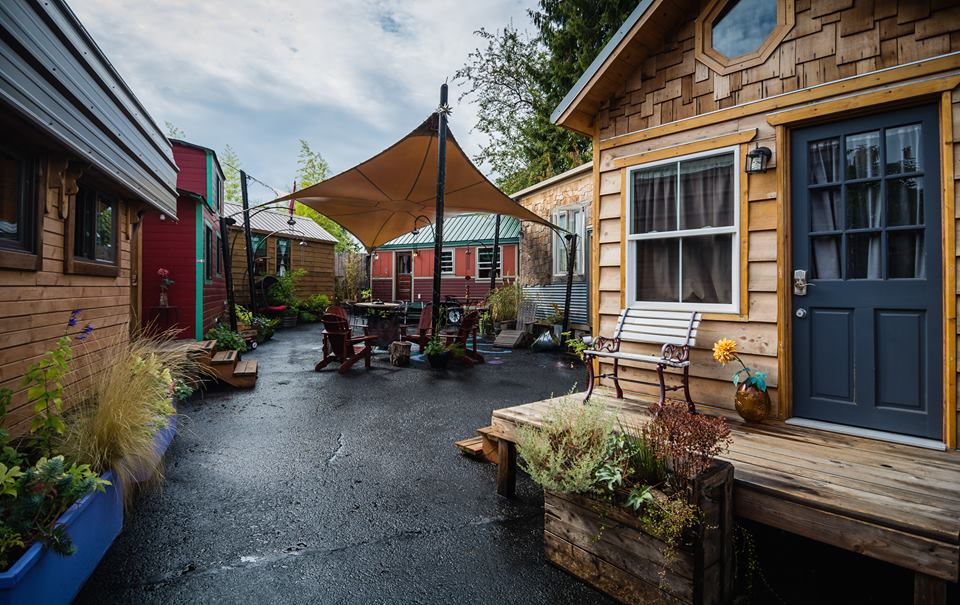Caravan the tiny house hotel is the most unique hotel in for Tiny house mansion