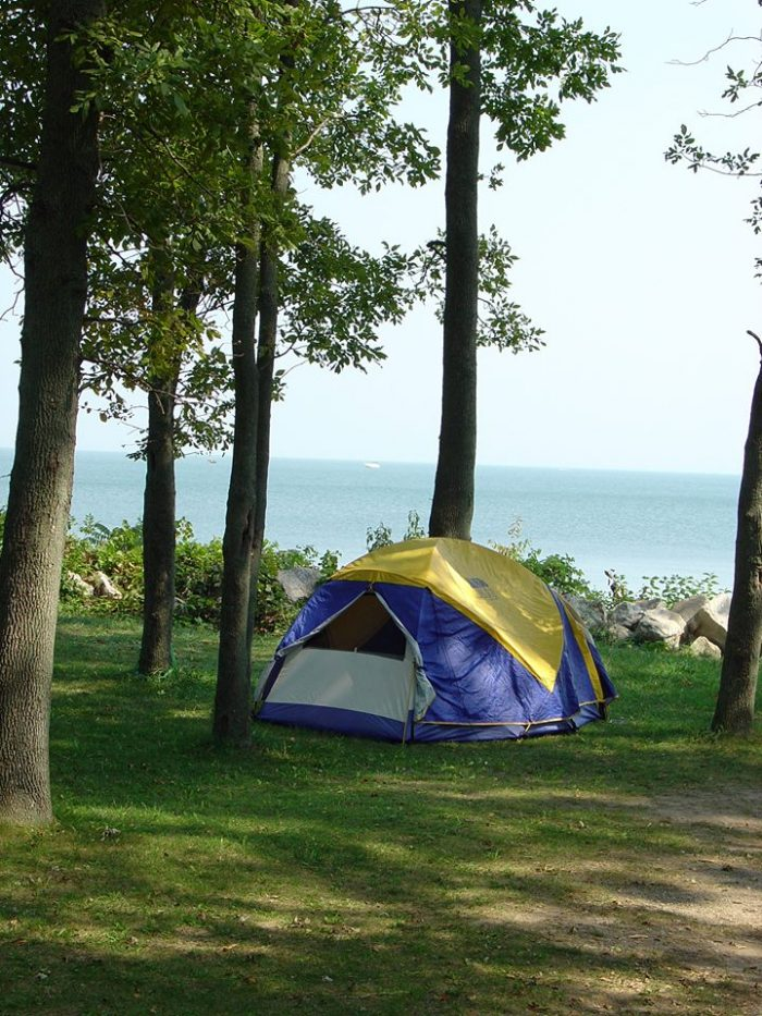 The Most Beautiful Campground In Ohio Kelleys Island
