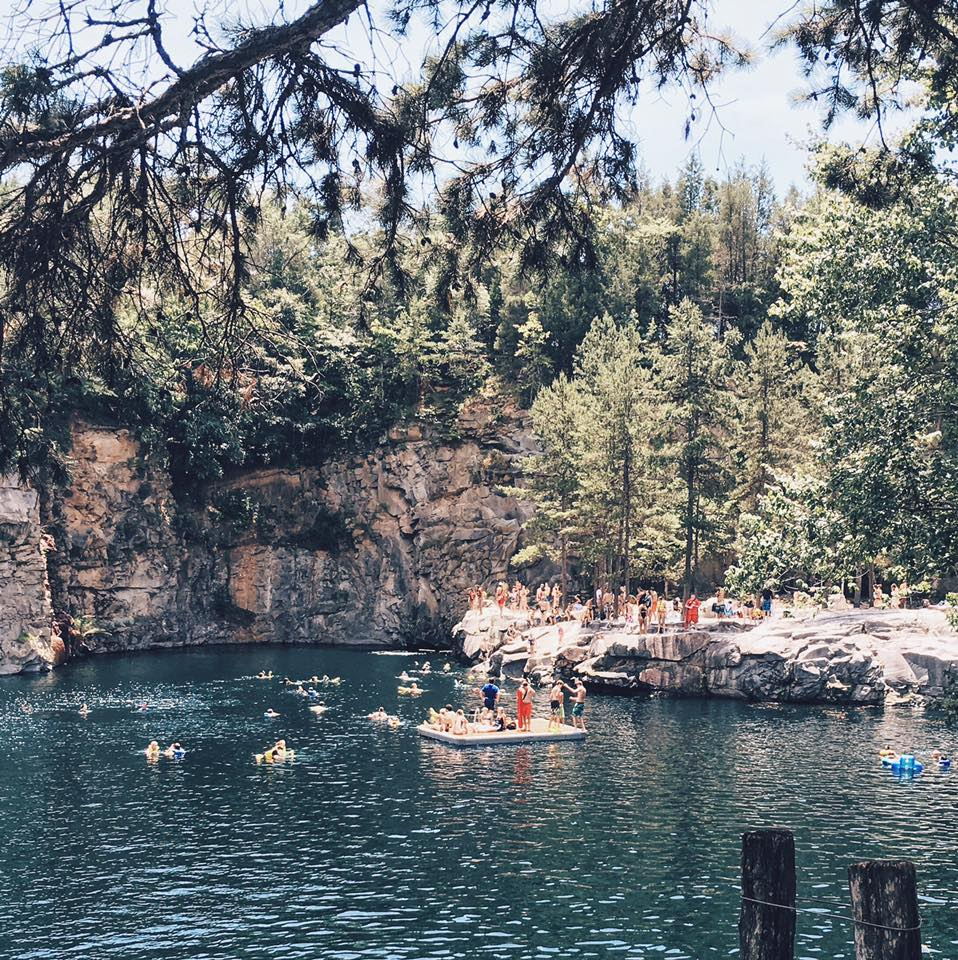 You Can Swim In The Granite Quarry Pool At Carrigan Farms