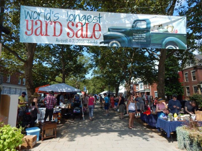 The Longest Yard Sale In The World In Ohio 127 Yard Sale