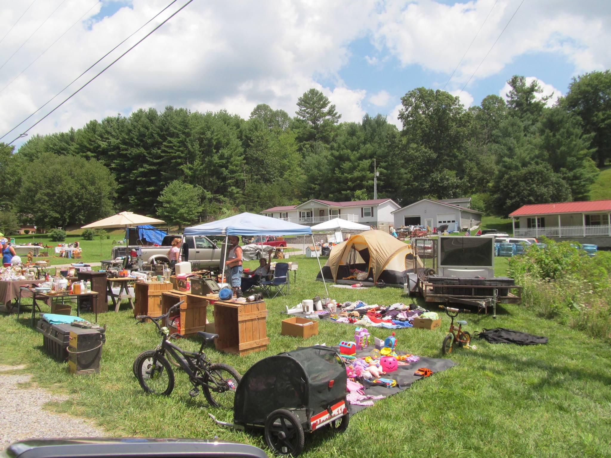 The 100-Mile Yard Sale Through North Carolina