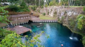 The Sapphire Natural Pool In Florida That's Devastatingly Gorgeous