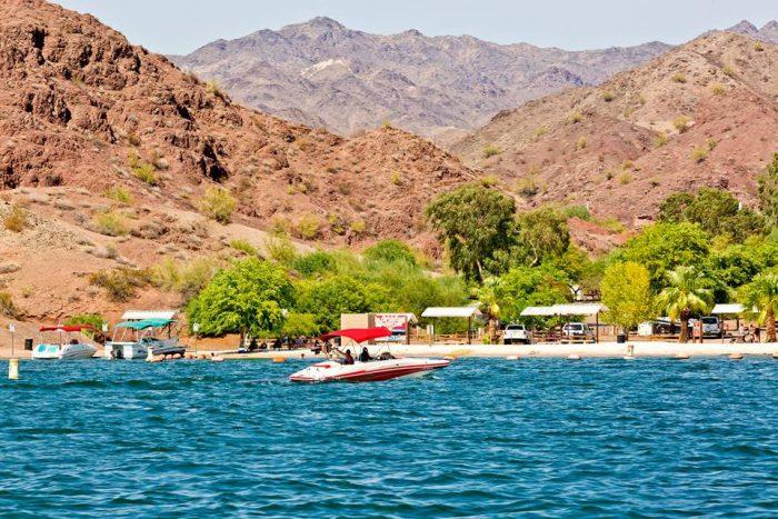 Visit this hidden beach along arizona s colorado river for Fishing license az price