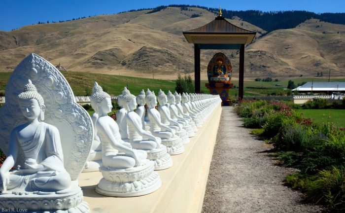 Spring in montana 9 places you must visit Garden of one thousand buddhas