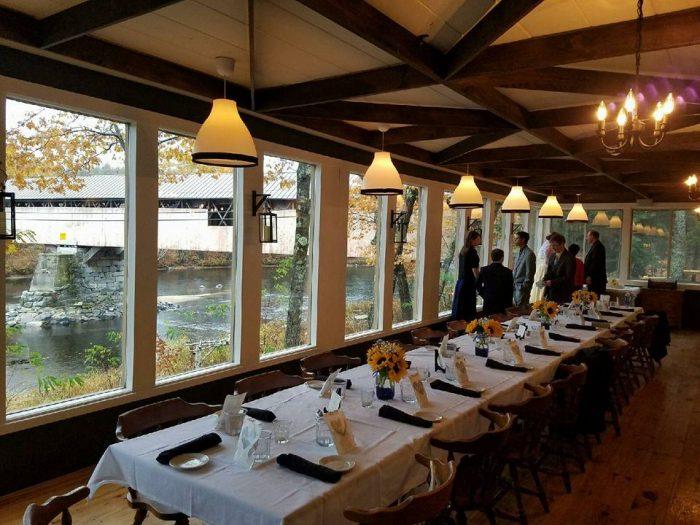 Covered Bridge Farm Table Restaurant In New Hampshire Is Incredible - Covered bridge farm table