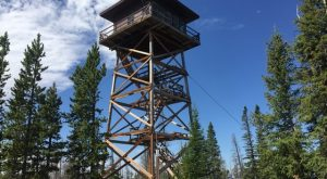 You'll Never Forget An Overnight Stay In This Unusual Wyoming Lookout