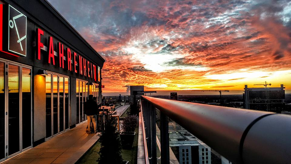 the best rooftop bar in north carolina is fahrenheit charlotte. Black Bedroom Furniture Sets. Home Design Ideas