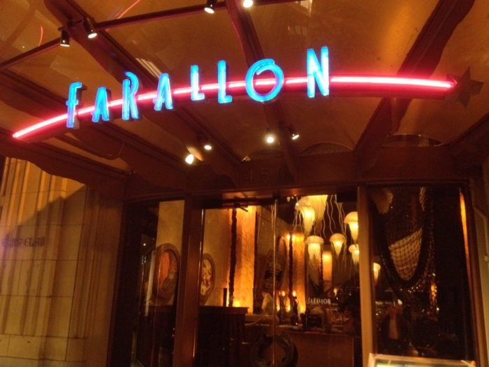 farallon is the most whimsical restaurant in san francisco. Black Bedroom Furniture Sets. Home Design Ideas