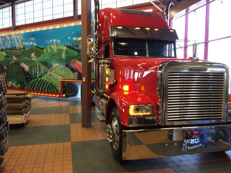 Iowa's I 80 Truck Stop Is The Biggest Truck Stop In America