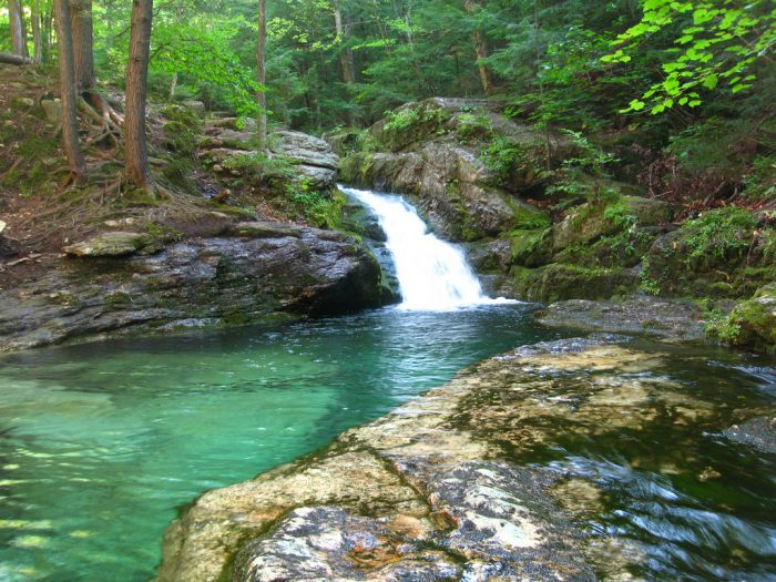 The sapphire natural pool in maine that 39 s devastatingly - Camping near me with swimming pool ...