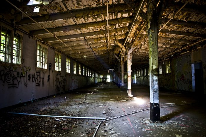 10 Staggering Photos Of An Abandoned Prison Hiding In Georgia