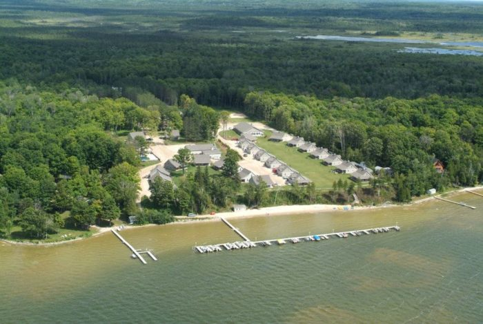 Pine Bluff Resort Is The Perfect Place For A Michigan Getaway