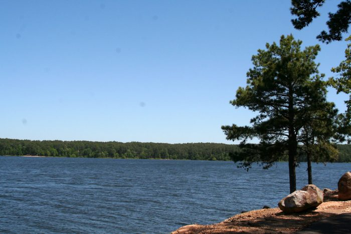 Five diamond lakes of arkansas picture perfect clarity for Cabins near crater of diamonds state park