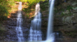 Few People Know There Are Three Waterfalls Along This One Arkansas Hike