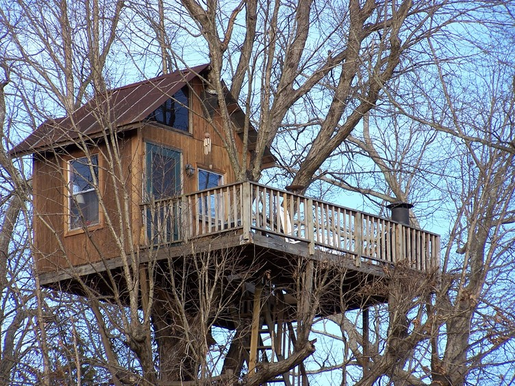 Sleep In The Trees At Treehouse Vineyards In Monroe