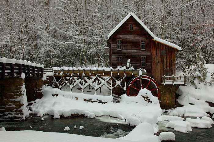Glade Creek Grist Mill In West Virginia Is A Charming