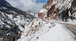 The Jaw-Dropping Mountain Pass In Colorado That's Home To The World's Scariest Job