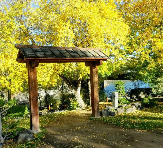 Japanese Inspired Garden In Grant Park: The Secret Garden In Idaho You're Guaranteed To Love