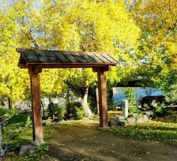 Japanese Friendship Garden at Sportsman Park, Idaho Falls