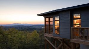 Sleep Underneath The Forest Canopy At This Epic Treehouse In Virginia