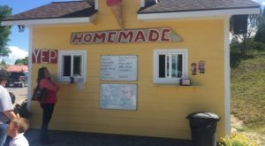 The Tiny Shop In Montana That Serves Homemade Ice Cream To Die For