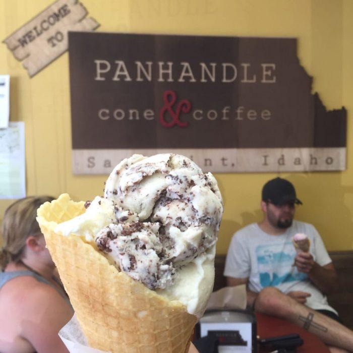 Best Homemade Ice Cream in Idaho - Panhandle Cone & Coffee, Sandpoint