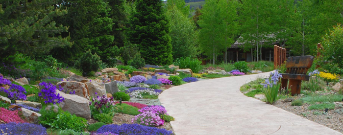 Genial With An Altitude Of A Whopping 8,200 Feet, The Hidden Gem Known As The  Betty Ford Alpine Gardens Are The Highest Botanical Gardens In The World!