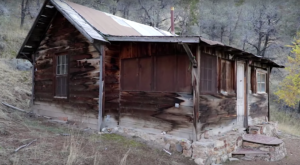 Nobody Knows Who's Leaving Fresh Flowers At This Decrepit Abandoned Cabin