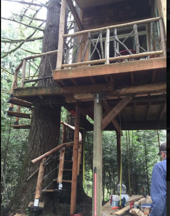 This Is The Best Treehouse For An Overnight Near Portland